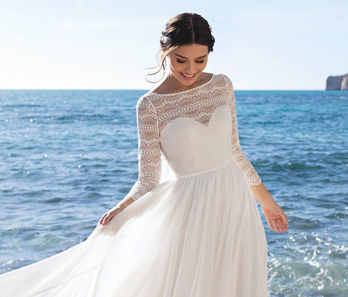 White One Find The One Wedding Dresses With A Youthful Twist